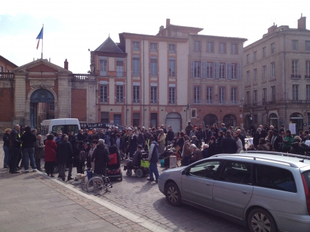Manif Access Toulouse 2014